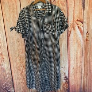 Ava & Viv Gingham Dress NWOT